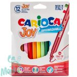 Vékony filctollszett 12db - Carioca