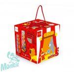 Scratch Toronyépítő kocka cirkusz 5 db-o- STACKING TOWER Circus