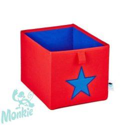 Store !T Kocka Tároló piros/kék csillag