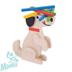 Bigjigs kutyusos egyensúlyozós játék