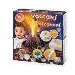 Kísérletező készlet Vulkánok és dínók  BUKI