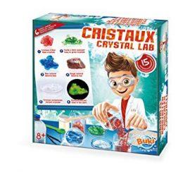 Kristálynövesztő labor 15 kisérlet-Crystal Lab 150 experiments BUKI