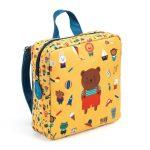 Djeco Óvodás táska - Mackó - Bear