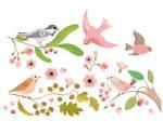 Djeco Ablakmatrica - Romantikus madarak - Romantic birds