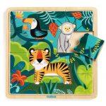 Djeco Képkirakó, puzzle - Dzsungel puzzle - Puzzlo Jungle