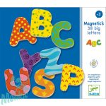 Djeco Mágneses betűkészlet - Nagybetűk - 38 fancy letters