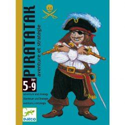 Djeco Kártyajáték - Kalóz csata - Piratatak