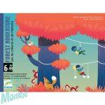 Djeco Kártyajáték - Kalandpark - Forest Adventure
