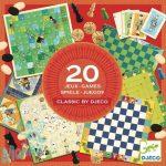 Djeco Társasjáték klasszikus - Classic box - 20 játék