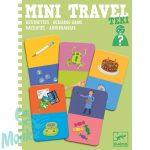 Djeco Mini utazó játék - Kérdezz-Felelek - Teki