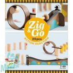 Djeco Építőjáték - Sokasodó 25 db - Zig & Go - 25 pcs