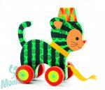 Djeco Húzható játék - Neko a bájos kiscica - Neko