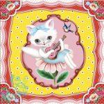 Djeco Zenélő ékszerdoboz - Macska dal - Cat song