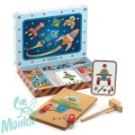 Djeco Kalapálós játék - Űrhajók - Space tap tap