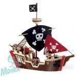 Djeco Kalózhajó - Ze pirat boat