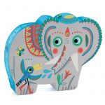 Djeco Haathee, Asian elephant - 24pcs
