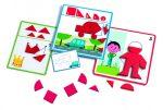 Djeco Fejlesztő játék - Alakzatok és formák - Eduludo Shapes