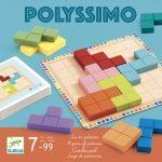 Djeco Logikai játék - Tetris négyzetkirakó - Polyssimo