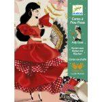 Djeco Varrás és díszítés - Táncosnő - Flamenco