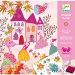 Djeco Kreatív nyomdakészlet - Hercegnők -  Princesses