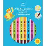 Djeco Ecsetfilc készlet - 10 ragyogó szín - Pop colors
