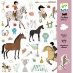 Djeco Matricák - Lovak - Horses