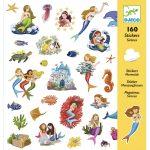 Djeco Matricák - Sellők - Mermaids