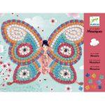 Djeco Mozaikkép készítés - Pillangók - Butterflies