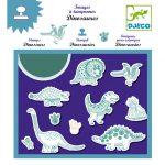 Djeco Nyomdakészlet - Dinoszauruszok - Dinosaurs