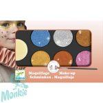 Djeco Arcfesték - 6 színű, metál fényű - Palette 6 colours - Metallic