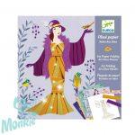 Djeco Írisz papírhajtogatás - Art deco ruhák - Art deco dresses