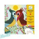 Djeco Írisz papírhajtogatás - Madarak - Bird