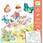 Djeco Meglepetés színezők - Pillangó kisasszony - Lady butterfly