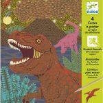 Djeco Karckép technika - Dinoszauruszok - Dinosaurs