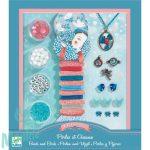 Djeco Ékszerkészító készlet - Gyöngyök és madarak - Pearls and birds