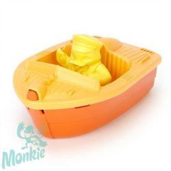 Green Toys  Mini Hajó Narancs