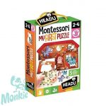Montessori Első puzzle -Tanya- Montessori First Puzzle the Farm