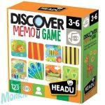 Memória játék- Discover Memo Game