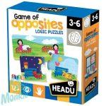 Párosító puzzle-Ellentétek-Game of Opposites