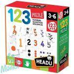 Fejlesztő puzzle-Számok és mennyiségek-122 Puzzle